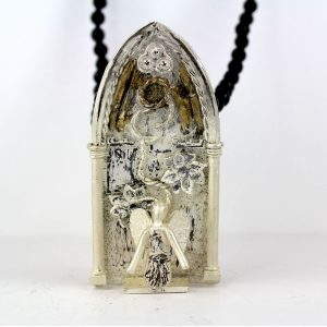 Collana Nativate Bianca - Damor - Tommaso Lucarelli Art Jewelry