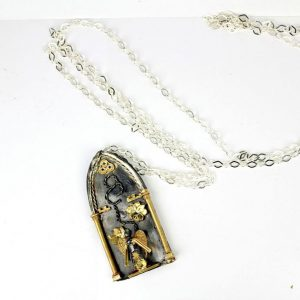 Collana Nativate Nera - Damor - Tommao Lucarelli Art Jewelry